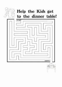 Resume Writing Templates Free Kids Dinner Thanksgiving Maze Template Printable Pdf Download
