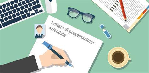 lettere di presentazione aziendale come scrivere una lettera di presentazione aziendale