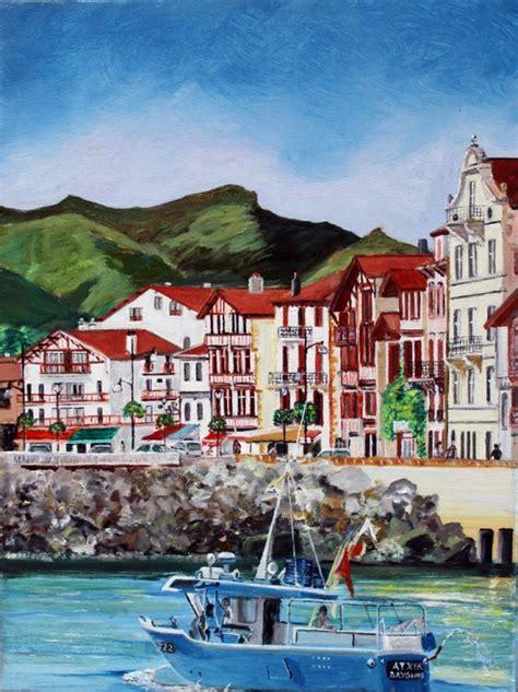 pays basque ciboure marines