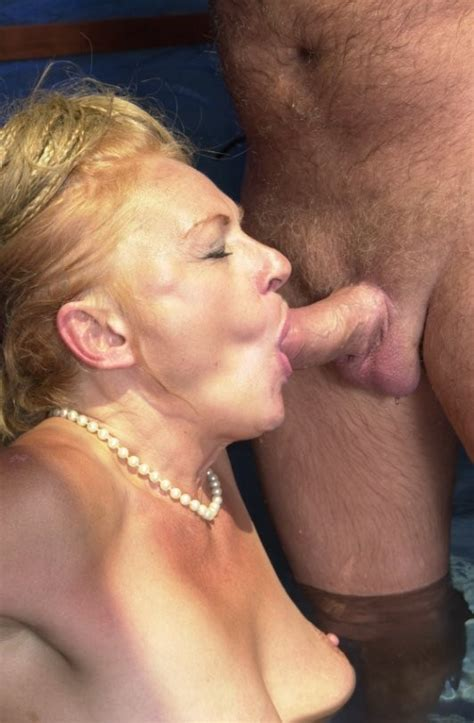 nasty jizz swallowing granny gets a huge cumload on her face pichunter