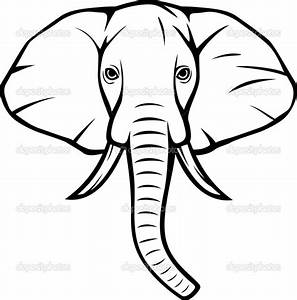Pix For > Indian Elephant Head Drawings | Clean Lines ...