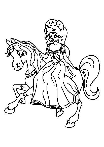 دانلود کتاب رنگ آمیزی پرنسس برای کودکان   Sketches