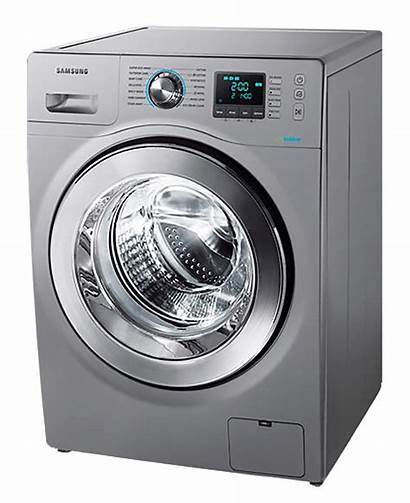 Washing Machine Laundry Transparent Samsung Loader Mesin