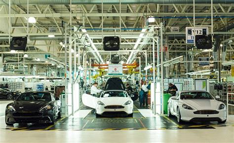 Behind The Scenes At Aston Martin