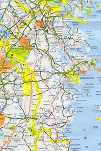 Anne Arundel County Map - Maryland - Maryland Hotels ...
