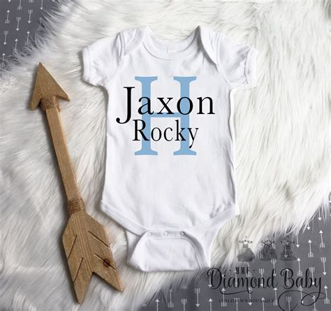 Baby boy onesies svg free. Personalized newborn boy onesie | Personalized onesie boy ...
