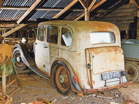 The 10 Best Classic Car Barn Finds Of All Time