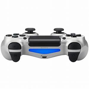 Sony PlayStation 4 DualShock 4 Controller Silver Games