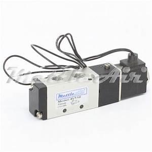 5 Ports 4 Way 2 Position Valve 1  8 U0026quot  Npt Wire Leads Single