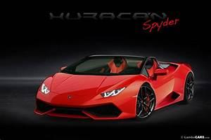 Lamborghini, Huracan, Spyder, To, Debut, At, Frankfurt, Motor