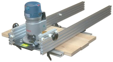 woodhaven   planing sled power router accessories