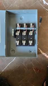 Interruptor De Seguridad Square D 3 X 60 Amp