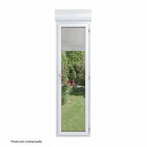 porte fenetre monobloc pvc dormant de 98 mm avec volet With porte fenetre pvc 1 vantail