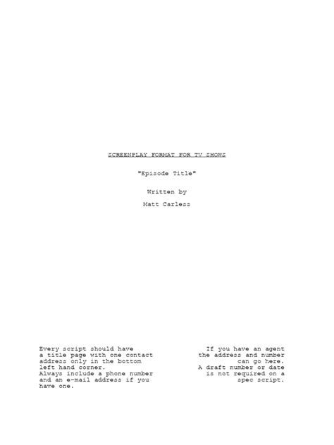 screenplay template   templates   word excel