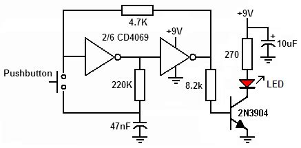 Switches Single Switch Circuit Turn Off Led