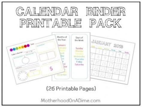 free calendar notebook printables and resources free homeschool deals