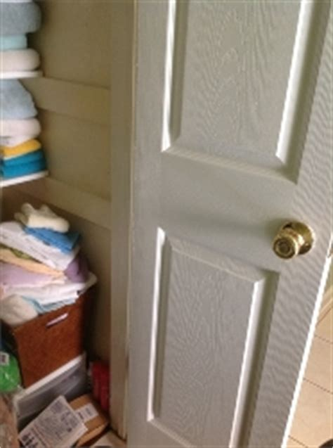 hometalk how to organize a narrow linen closet