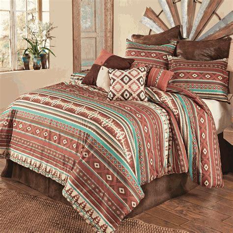 Sante Fe Spice Comforter Set   Queen