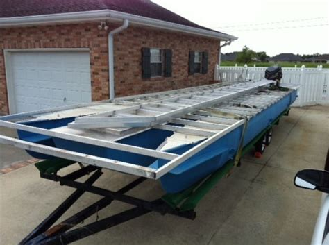Boats For Sale In Houma by 2011 Pontoon House Boat For Sale In Houma Louisiana