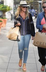 Julie Benz Casual Style Shopping In LA 4112016