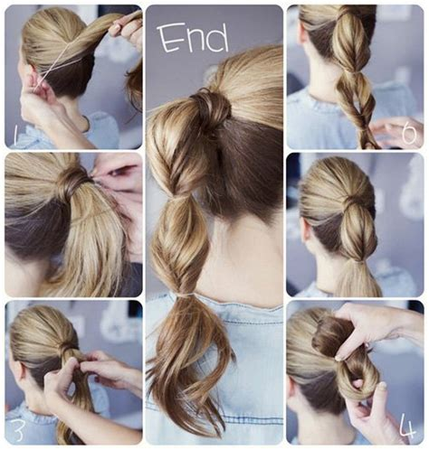 spectacular diy hairstyle ideas   busy morning