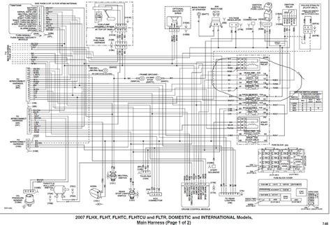 Harley Davidson Road Glide Wiring Diagram by Collection Of Harley Davidson Trailer Wiring Diagram