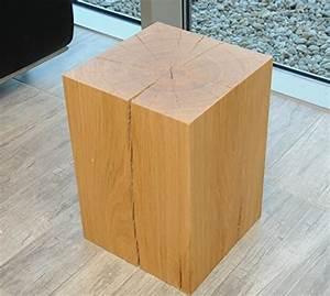 Blumenständer Aus Holz : design sitzblock sitzhocker hocker cube sitzw rfel sitzklotz massivholz eiche couchtisch ~ Whattoseeinmadrid.com Haus und Dekorationen