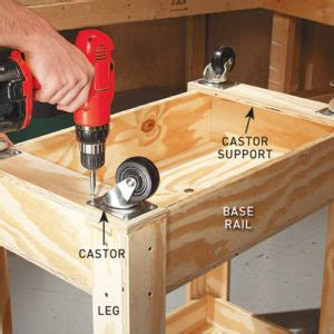 build  mobile workbench australian handyman magazine