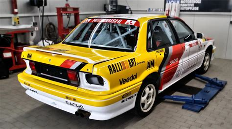 Mitsubishi Galant Car by Xtrem Promotion Rally Car Mitsubishi Galant Vr4