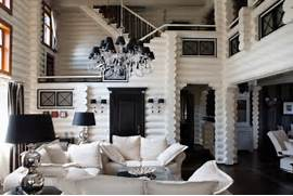 Black Color House Unusual Interior Black And White House In A Mix Of Styles DigsDigs