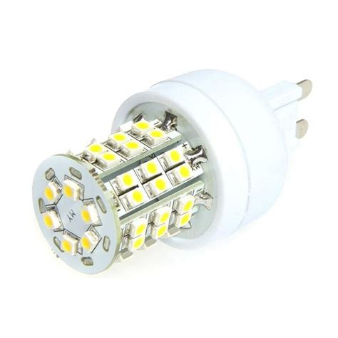 g9 led bulb with 48 x 3528 smd chips 35w 50w halogen