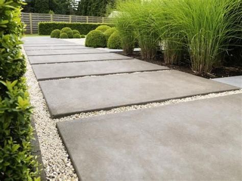 paving and gravel garden ideas concrete paver pathway landscaping pavers pinterest concrete pavers concrete and gardens
