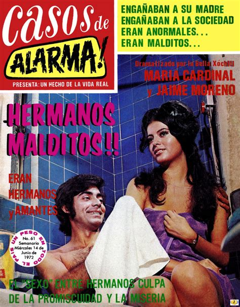mexico comic fotonovelas casos de alarma  al
