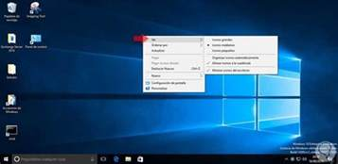 como cambiar el tamano de los iconos en windows  solvetic