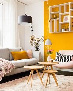 Décoration Salon Jaune Moutarde : la couleur jaune moutarde pour une d co affirm e shake my blog ~ Melissatoandfro.com Idées de Décoration