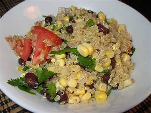 Aztec Quinoa Salad on Closet Cooking