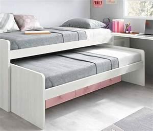 Ikea Lit 90x190 : chambre fille ado avec un lit pratique fun glicerio ~ Teatrodelosmanantiales.com Idées de Décoration