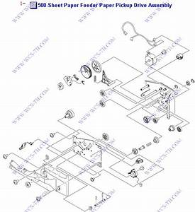 Diagram Hp Color Laserjet 4700