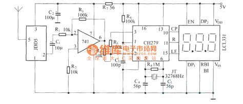 Digital Remote Thermometer Fdd Jdd Circuit Diagram