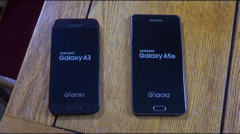 samsung galaxy a3 2017 vs a5 2016 speed test