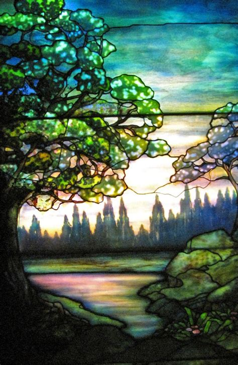 tiffany stained glass  pinterest stained glass panels