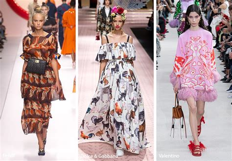 spring summer  fall print trends fashionist