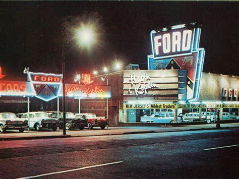 vintage photo    nj ford dealership