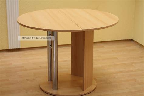 runder tisch zum ausziehen integrierte platte zum anstecken