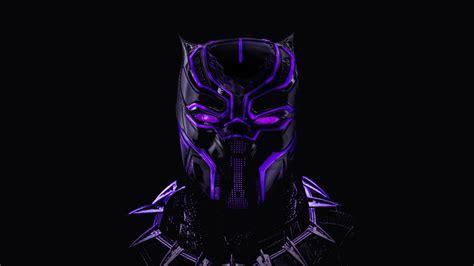 Black Panther Neon Artwork 5k Wallpapers  Hd Wallpapers