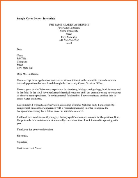 How To Write The Best Cover Letter And Resume by Internship Cover Letter Soap Format
