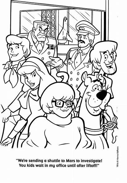Scooby Doo Coloring Pages Cartoon Colouring Sheets