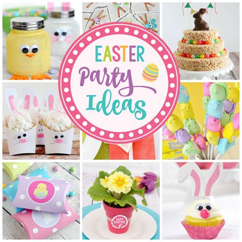 easter ideas 25 easter party ideas fun squared
