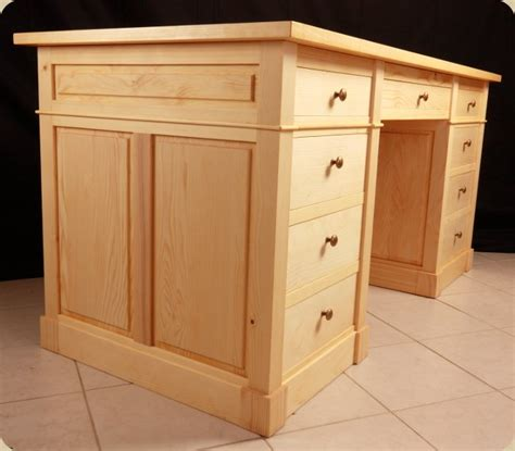 meuble caisson bureau fabrication d un bureau en bois photos de conception de