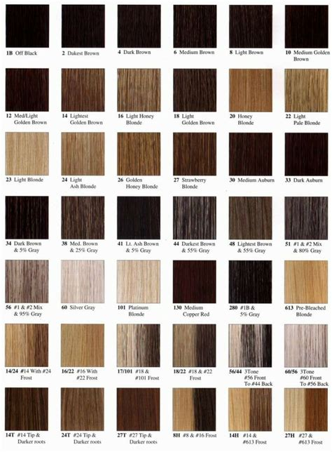 Hair Shade Names by 1000 Ideas About Hair Color Names On Shades